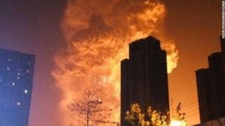 【爆発】中国天津で起きた大爆発映像 TNT爆薬24t分の威力