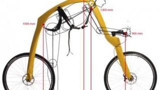ドイツの斬新的すぎる自転車 「FLIZ」