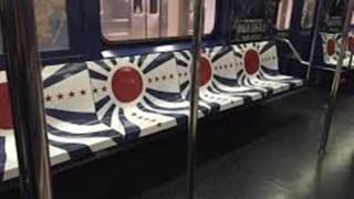 ニューヨークの地下鉄が旭日旗とナチス紋章で埋め尽くされている件