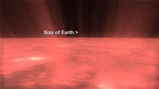 地球の小ささが良く分かる動画