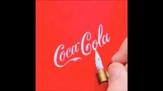有名な企業のロゴをペン一本で完璧に複写